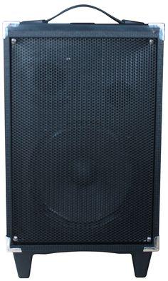 wooden box speaker system