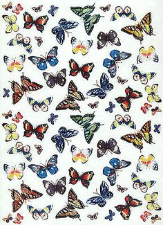 Rice-Paper-for-Decoupage-Scrapbook-Sheet-Craft-Paper-Colorful-Butterflies