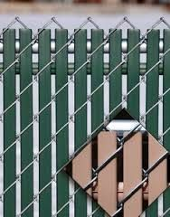 option lock privacy slats for chain link fence offer a new innovative way to add both privacy and wind protection to any fence - Chain Link Fence Slats
