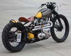 1961 Triumph T110 bobber by Angry Monkey
