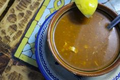 Lo que debes comer en Marruecos en tu primera vez. Sopa Harira. …