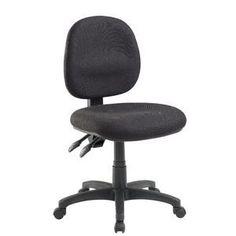 Matrix II Medium Back Heavy-Duty Ergonomic Chair Black Ergonomic Chair, Shopping, Black, Black People