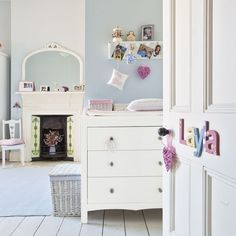 Girl's pale blue bedroom | Country decorating with pale blue | Design ideas | PHOTO GALLERY | Housetohome.co.uk