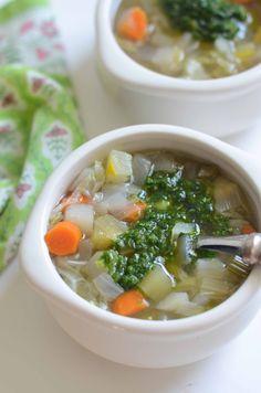 Soupe au Pistou | Fresh Tart (Paleo, AIP, Vegan)