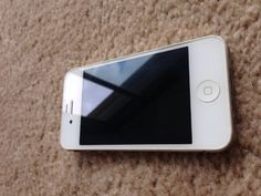 Apple Iphone 4 16gb White Unlocked iPhone 4 white 16GB Factory unlocked works on any GSM network worldwide.  #Apple #Wireless