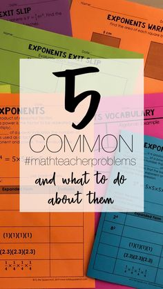 Common problems math teachers have and what to do about them- plus free activities! Teacher Blogs, Math Teacher, Math Classroom, Teaching Math, Stem Teacher, Teaching Strategies, Teaching Tips, Teacher Resources, Science Resources
