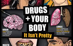 Click here to see the publication Drugs + Your Body: It Isn't Pretty (Teaching Guide) Poster - National Institute on Drug Abuse
