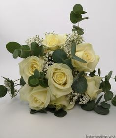 Wedding Flowers Liverpool, Merseyside, Bridal Florist, Booker Flowers and Gifts, Booker Weddings Rose Bridesmaid Bouquet, Vera Wang Wedding, Winter Wedding Flowers, White Roses, Liverpool, Our Wedding, Floral Wreath, Wreaths, Weddings