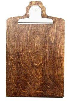 dřevěný jídelní lístek s klipem Ski Bar, Clipboard, A4, Table, Furniture, Home Decor, Menu Chalkboard, Interior Designing, Menu Cards