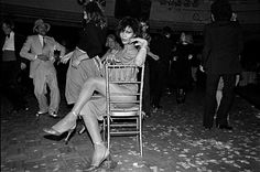 The first time Bill Bernstein went to #Studio54 it was at the relatively tame hour of 9 p.m. On assignment with The Village Voice he was meant to photograph the guests in tuxedos and gowns at a dinner for Jimmy Carter's mother Lillian who stuck around until about eleven. At that point the event photographers started to leave too but not before Bernstein making up his mind to photograph the club's rowdier regulars stopped one and bought ten rolls of film. As the chairs were cleared off the…