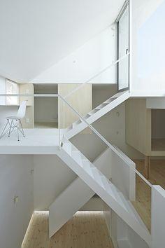 raumplan - stairs - light