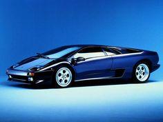 Lamborghini Diablo - A classic. One of the most beautiful cars ever made