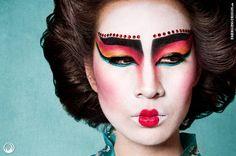 Vivien H as Modern Geisha - by Emerging