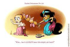 pocket princess | Pocket Princesses [Cute and Hilarious Comics featuring Disney's ...
