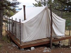 wall tents in the snow - Google Search