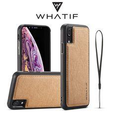 WHATIF Kraft Paper Shockproof Protective Case For iPhone XR Kraft Paper, Protective Cases, Gadgets, Iphone Cases, Apple, Accessories, Apple Fruit, Iphone Case, Gadget