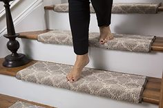 Parterre Wool Inspired Bullnose Carpet Stair Tread With A... Https://