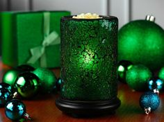 Get this new green crackling shade just in time for Christmas!