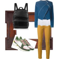 Designer Clothes, Shoes & Bags for Women Sporty Chic, Elizabeth And James, Kenzo, Polyvore Fashion, Adidas, Shoe Bag, Stuff To Buy, Bags, Outfits