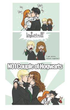 no 1 couple of hogwarts by DawnElaineDarkwood