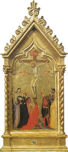 Museo Horne - Firenze - Bernardo Daddi - Crocifissione - c. 1290
