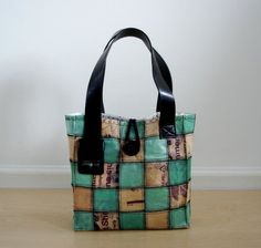 recycled plastic bags, belt