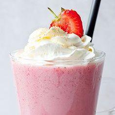 Milkshake truskawkowy | Kwestia Smaku