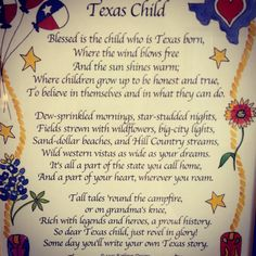 Our oldest two grands are TX born, our baby grand, Sam got here as fast as he could. He has dual citizenship!  :)