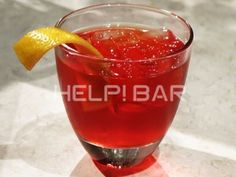 I like Negroni, Help!bar