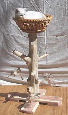 Cat tree. $140.00, via Etsy.