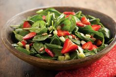 Find this Awesome Spring Strawberry Spinach Salad recipe and over a million other food and drink recipes at www.reciping.com