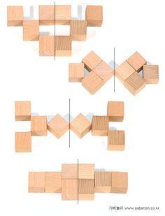gift 3: symmetry Activity Games, Math Games, Learning Activities, Toddler Activities, Jenga Blocks, Form Drawing, Montessori Math, Toddler Play, Tot School