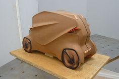 BMW Quart Concept by Yujin Kim - Clay Model