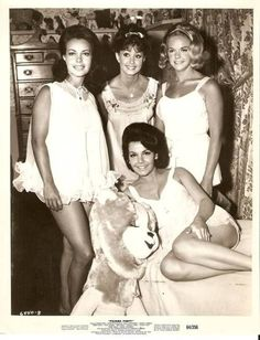 0 Annette Funicello in babydoll and co-stars - Pajama Party 1964