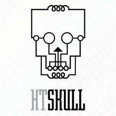 High-Tech Skull logo