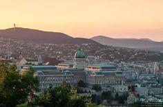 Buda side of Budapest, Hungary