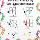 Steps+to+Two+digit+by+one+digit+multiplication. Steps+to+Two+digit+by+two+digit+multiplication.  Keywords:+Math,+Multiplication,+Review,+Practice,+...