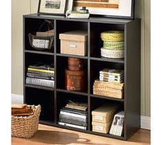 Bedford 3 x 3 Bookcase #potterybarn