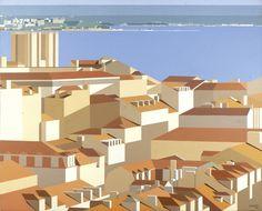 Summer Collection at Galeria São Mamede in Lisbon - Maluda, Untitled, 1995, Oil…