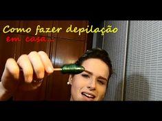 Como fazer depilação em casa - YouTube