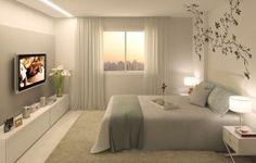 Decoração de quarto de casal modelo 1 330x210 Decoração de quarto para casal   fotos e modelos