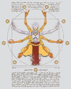 Vitruvian Omnic by CattocC