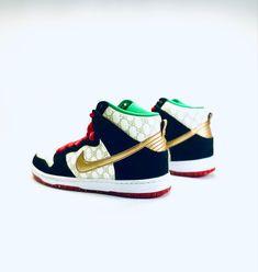 Exclusive Sneakers, Dapper Dan, Black Sheep, Nike Dunks, Best Brand, Hip Hop, Baby Shoes, Footwear, Monogram