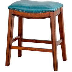 Improvements Fiesta Faux Leather Counter Stool - Red ($100) ❤ liked on Polyvore featuring home, furniture, stools, barstools, chair, bar stool, seating, red, leather stool and indoor stool