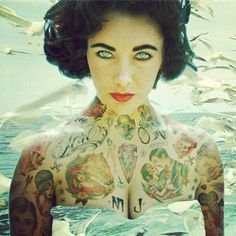 Famous tattooed. With Elizabeth Taylor and other famous Cheyenne tries to make tattoos look as true as possible.
