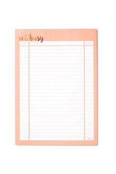 Keep on top of daily tasks with the A4 Plan Ahead! <$5.  Typo.   br> The A4 planner has different sections to fill out so you can be super productive with your time. <br> These planners come in range of designs. <br> Makes planning your week such a breeze!  <br> 60 tear off sheets, with hard backing. <br> Dimensions: 21cm x 29.7cm <br/>