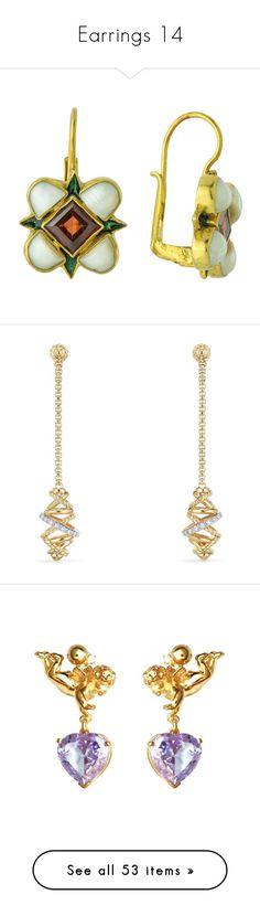 """""""Earrings 14"""" by thesassystewart on Polyvore featuring jewelry, earrings, renaissance jewelry, garnet jewelry, earring jewelry, garnet earrings, cocktail jewelry, gold earrings, diamond earrings and 18k gold earrings"""