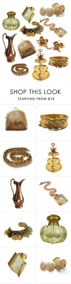 """""""Thursday's Feature Picks"""" by patack ❤ liked on Polyvore featuring Hattie Carnegie, Napier, Baccarat, Komar and vintage"""