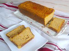 Recette d'un cake moelleux et fondant au butternut, fromage et au son d'avoine pour des accompagnements sains et équilibrés.Avec données nutritionnelles.