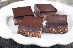 Recette : Carré au chocolat rapide sans cuisson